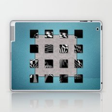 SQUARE AMBIENCE - Blue Sports Laptop & iPad Skin