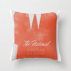 The National  Throw Pillow