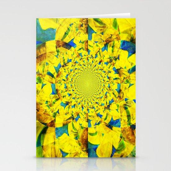 China Kat Sunflower Stationery Cards