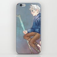 jack frost iPhone & iPod Skins featuring Jack Frost by Rosita Maria