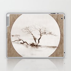 Scots Pine Paper Bag Sepia Laptop & iPad Skin