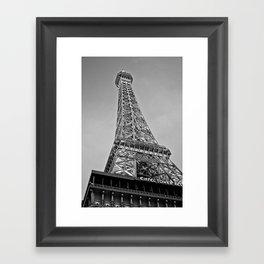 Vegas' Eiffel Tower  Framed Art Print