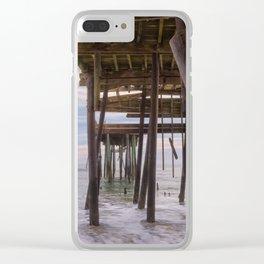 Under Frisco Pier Clear iPhone Case
