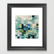 Sea Marks 3 Framed Art Print