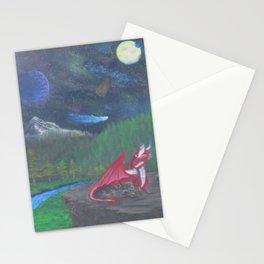 Dragon's glare Stationery Cards