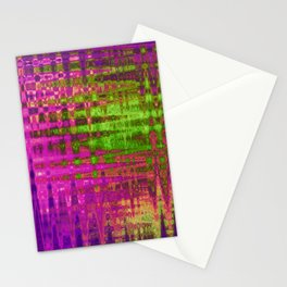 On the Purple Wire Stationery Cards