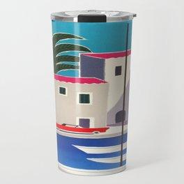 Vintage poster - French Riviera Travel Mug