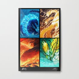Four Forces Metal Print
