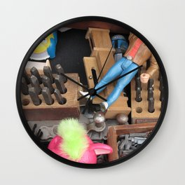 Get Down! Wall Clock