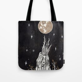 Moonlight Dryad Tote Bag
