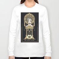 great gatsby Long Sleeve T-shirts featuring The Great Gatsby by Lindsay Hubbard
