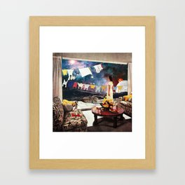 Room with an Almost View Framed Art Print