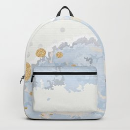 Blue & Gold Art Backpack