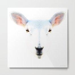 The White Sheep By Sharon Cummings Metal Print