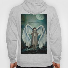 Beautiful angel in the night Hoody