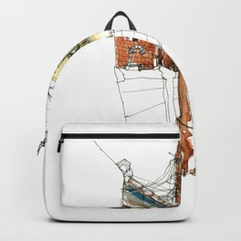vintage city Backpack