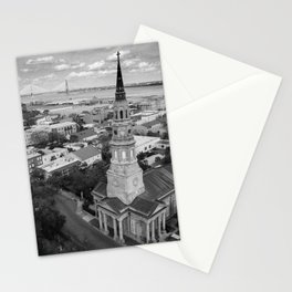 St Philips Black and White Stationery Cards