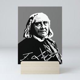 Franz Liszt (1811-1886) in 1886 (digital 1) Mini Art Print