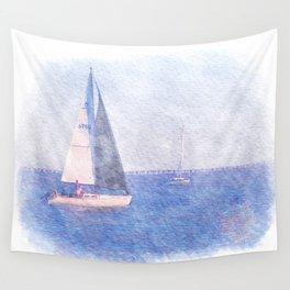 Sail Away Wall Tapestry