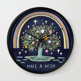 Make a wish Wall Clock