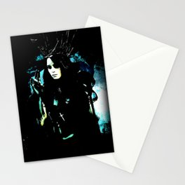 Queen of the damnation Stationery Cards