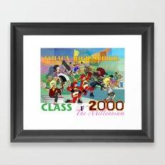 IHS Class of 2000 Framed Art Print