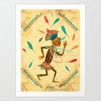 Kayapo Art Print
