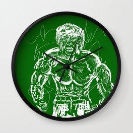 Don't make me angry!! Wall Clock