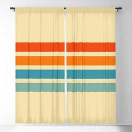 Classic Retro Cernunnos Blackout Curtain