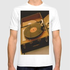 Victrola Mens Fitted Tee White MEDIUM