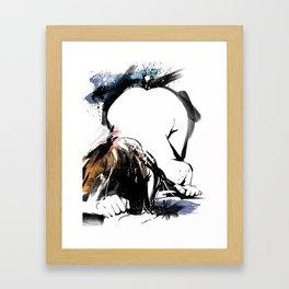 Shibari - Japanese BDSM Art Painting #8 Framed Art Print