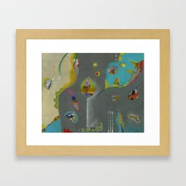 Bee Sassy Framed Art Print
