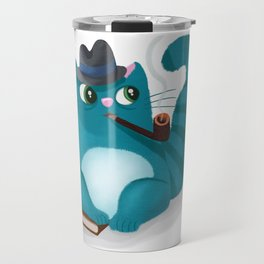 Professor Kitty Travel Mug