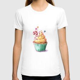 Christmas cupcake T-shirt