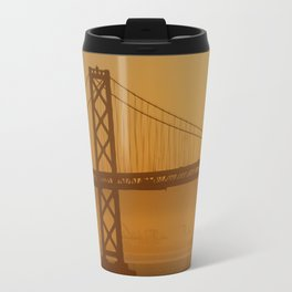 Stunning California Golden Sunrise Travel Mug