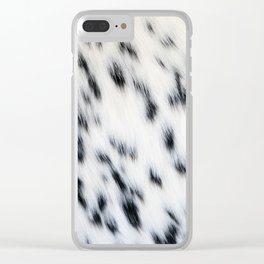 Spots Clear iPhone Case