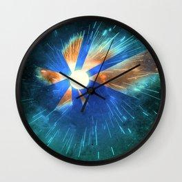 Light Flares Wall Clock