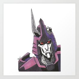 """Not A Decepticon"" - Cyclonus Art Print"
