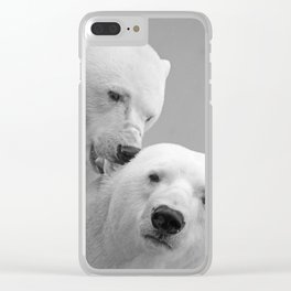 polar bears #society6 #decor #buyart Clear iPhone Case
