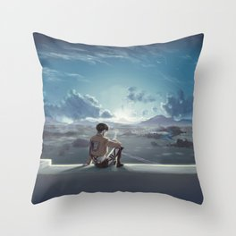 Morning Tea Throw Pillow