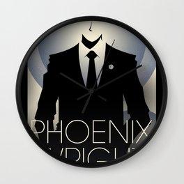Phoenix Wright - 10th Anniversary Print Wall Clock