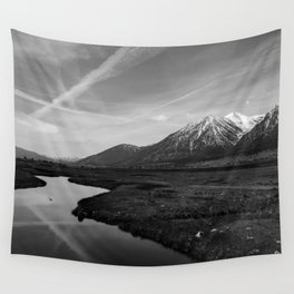 Black and White Nevada Wall Tapestry