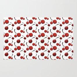 Watercolor Cherries Rug