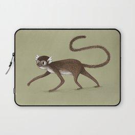 Squirrel Monkey Walking Laptop Sleeve