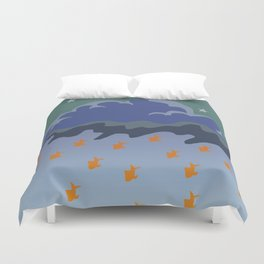 Stars and Fish Duvet Cover