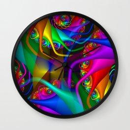 spirals for a duffle bag Wall Clock