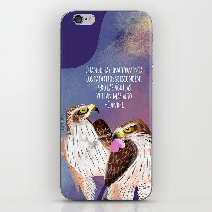 Totem Bonelli´s Eagle (GREFA) Ultraviolet iPhone Skin