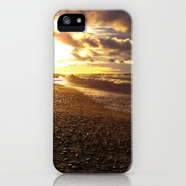 Stormy  Superior Sunset iPhone Case