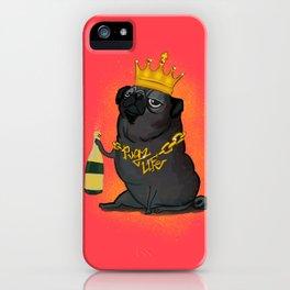 Pugz Life iPhone Case