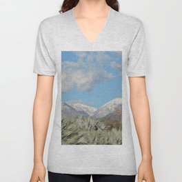From Chaparral To Snow Unisex V-Neck